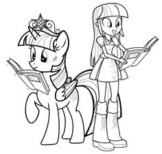 Cute Coloring Pages, Coloring Pages For Girls, Coloring For Kids, Coloring Sheets, Nice Pictures To Draw, My Little Pony Coloring, My Little Pony Princess, Girls Together, Disney Colors