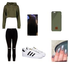 """""""outfit"""" by oufits247 on Polyvore featuring New Look, Boohoo, adidas and Native Union"""