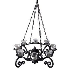 allen + roth Gazebo Chandelier - Lowes $58