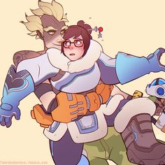Junkrat and Mei!