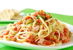 Recetas de Cocina: Pasta con Atun. Espagueti con Atun.