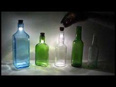 🔴  Arte com Garrafa - luzes Iluminação - Canal tsttoo Art Brasil