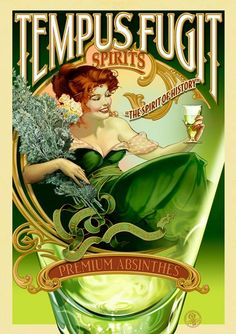 "absinthe - the green fairy ""The Marketplace for Adults with Taste"" #LiquorList"