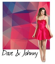 """Dave & Johnny: FUCHSIA homecoming dress"" by daveandjohnny212 on Polyvore featuring Dave and Johnny"