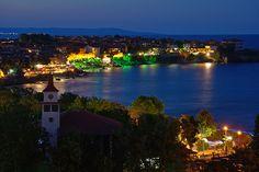 Twilight in Sozopol II (At the Seaside Resort in Bulgaria, Europe)