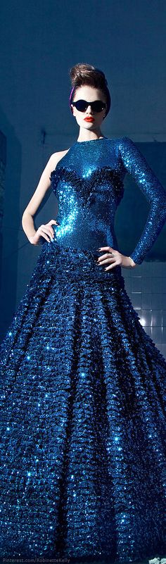 Nicolas Jebran | Couture, F/W 2013-14  Repinned by www.fashion.net