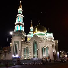 Moscow Cathedral Mosque  #mezquita #moscu #rusia #russia  #moscow