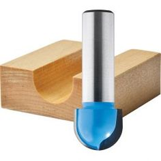 Rockler Core Box Shank Router Bits cut a round-bottom groove ideal for decorative columns, finger pulls, sill drip rails and more. Woodworking Router Bits, Router Tool, Trim Router, Woodworking Jigsaw, Woodworking Power Tools, Woodworking Logo, Woodworking Supplies, Woodworking Crafts, Dremel Tool