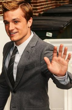 Josh Hutcherson. when I see his face its like i was in pain and suddenly its gone...