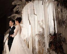 Wedding Colors, One Shoulder Wedding Dress, Reception, Wedding Inspiration, Photo And Video, Studio, Wedding Dresses, Divider, December