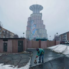 SIMON STÅLENHAG — Remembering The Vertical Cities Of Västerort Top...