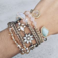 Shop this Spring's pastel-perfect bracelets on my boutique today!