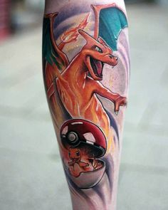 Catch ink inspiration with the top 50 best Pokeball tattoo designs for men. Explore cool Pokemon game themed ink ideas and body art. Charmander Tattoo, Pokeball Tattoo, Pokemon Tattoo, Tattoos Skull, Anime Tattoos, Cute Tattoos, Body Art Tattoos, Tattoos For Guys, Sleeve Tattoos
