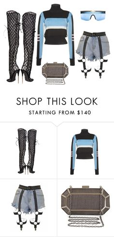 """""""Untitled #4493"""" by teastylef ❤ liked on Polyvore featuring Tom Ford, Emilio Pucci, BCBGMAXAZRIA and Versace"""