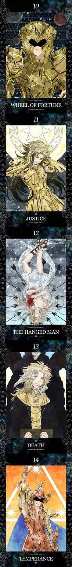 Part Three Saint Seiya Gemini Story Tarot Cards