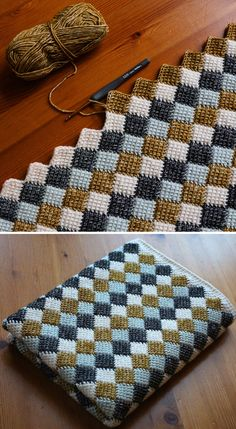 Most current Pictures Crochet afghan tutorials Thoughts Entrelac Blanket – Free Crochet Pattern (Schöne Fähigkeiten – Häkeln Stricken Quilten) – H Knitting Stitches, Free Knitting, Knitting Patterns, Knitting Ideas, Free Crochet Blanket Patterns, Loom Knitting Blanket, Knitting Beginners, Vintage Crochet Patterns, Pattern Sewing