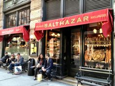 Balthazar- 80 Spring St (between Broadway and Crosby St). Balthazar is not only one of New York City's highest rated French restaurants, York Restaurants, French Restaurants, Hiking Club, New York Food, I Love Nyc, Upstate New York, City That Never Sleeps, New York Travel, New York City