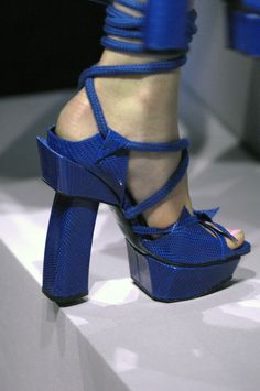 Shoes from hell. Not fashion, just nonsense. Christian Dior S/S 2011