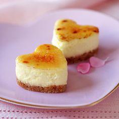 Mini Brulee Cheesecake