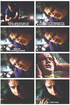 I loved this part. Damon was like a father!