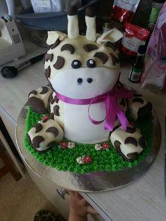 Cute cake.... Giraffe Gianna Look