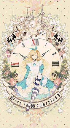 Alice (Alice in Wonderland) Image - Zerochan Anime Image Board Alice In Wonderland Drawings, Alice And Wonderland Quotes, Adventures In Wonderland, Alice Liddell, Princess Art, Anime Princess, Alice Anime, Alice Madness, Disney Drawings