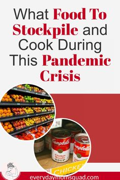 Tips for moms on what foods you should stockpile during a pandemic crisis. We go over essentials plus how to be creative with what you have and make meals for you and your family. Healthy Lifestyle Tips, Lifestyle Group, Good Sources Of Protein, Getting Hungry, Frozen Meals, Work From Home Moms, What To Cook, Food Lists, Healthy Recipes