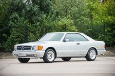 1986 Mercedes-Benz 560 SEC - 38,000 kms - Silverstone Auctions