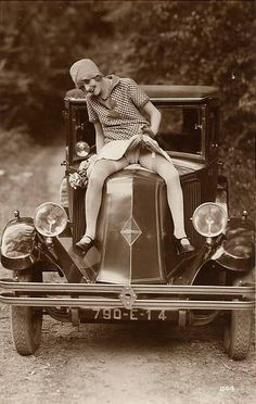 Vintage hussy!