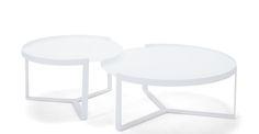 Aula Coffee Table, White