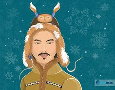 """Check out new work on my @Behance portfolio: """"Arctic Fashion"""" http://be.net/gallery/46658677/Arctic-Fashion"""