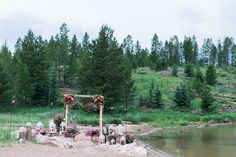 Windy Point Campground Waterfront Ceremony