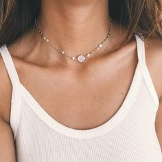 Opal Celestial Choker Necklace