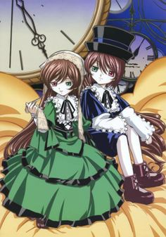 Suiseiseki and Souseiseki the Rozen Maiden Twins