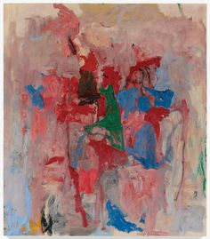 Philip Guston, Processional, 1957. Oil on canvas. 121.92cm H x 107cm W. (San Francisco Museum of Modern Art) (Image © The Estate of Philip Guston)
