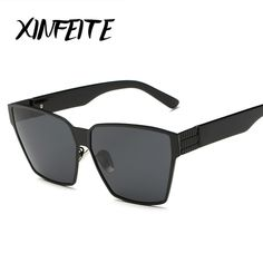 XINFEITE Brand 2017 Fashion Men And Women Universal Polarized Sunglasses Classic Vintage Hipster Oversized Sun Glasses Shades #RetroMens