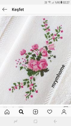 Cross Stitch Heart, Cross Stitch Flowers, Cross Stitch Pattern Maker, Cross Stitch Patterns, Hand Embroidery Design Patterns, Cross Stitch Geometric, Crochet Bedspread, Brick Stitch, Cross Stitch Designs