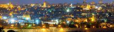 Le mille luci della città #Gerusalemme #notte