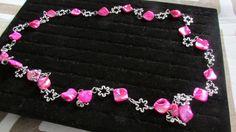 collana con perle in madreperla di uncinettotuttomatto su Etsy