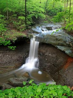 Cuyahoga Valley Photograph by James Crotty, My Shot Although Brandywine Falls draws most of the tourists to Ohios Cuyahoga Valley National Park, less crowded Blue Hen Falls, pictured here, offers an oasis in the middle of a heavily forested valley. Most Visited National Parks, Us National Parks, Beautiful Waterfalls, Beautiful Landscapes, Brandywine Falls, Parque Natural, Park Photos, Adventure Is Out There, State Parks