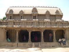 Pancha Rathas (Five Rathas), Mahabalipuram   by Velachery Balu