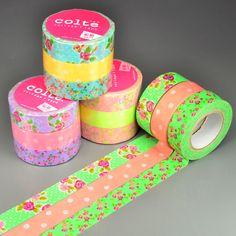 Wishy Washi Tape — Adorable Japanese washi masking tape, cute packaging and scrapbooking supplies!