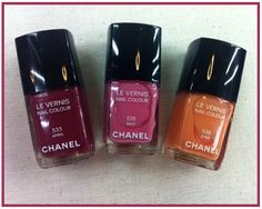 Chanel Spring 2012 Nail Colors