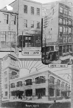 This edition of The Jersey Journal's vintage photos takes us through the buzzing heart of Jersey City's Journal Square. City Journal, Photo Journal, Railroad Companies, Trust Company, The Three Stooges, Tear Down, Hudson River, Jehovah's Witnesses, Jersey City