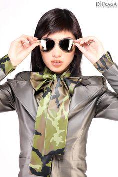 "MV9 Techno Bow Blouse ""Shield"", Business Costume ""Shyne"""