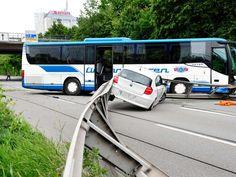 Bus Unfall Mittlerer Ring Bilder