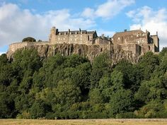 Stirling castle looking from the west. Another Beautiful Scottish Historical building