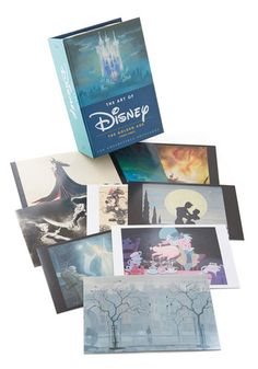 The Art of Disney Notecard Set. Take a stroll down memory lane - and delight your pen pals at the same time! #multi #modcloth