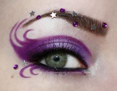make-up for Halloween--this could go with Karmyn's costume this year.