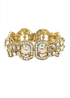 Shop Helen's Heart JB-PD00339, sparkling bangle bracelet is the perfect prom accessory available now at RissyRoos.com.